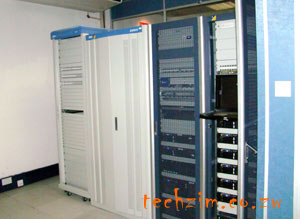 The call center server room - Powered by ZTE