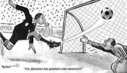 Dynamos Cartoon Namate