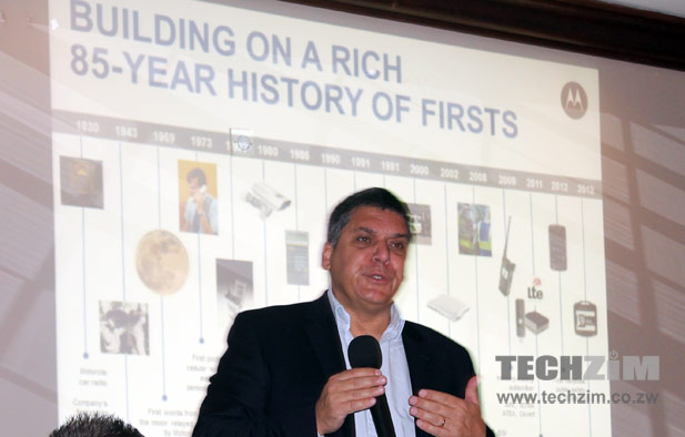Carlos Ferraz, General Manager Motorola Solutions Africa – Enterprise