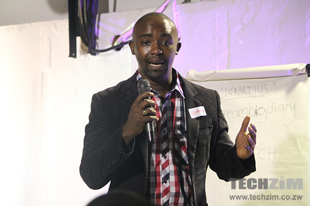 Ignatius Munengwa, founder and CEO of Dream Big