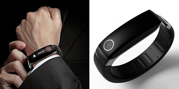 The stylish Lifeband Touch from LG. Image Credit: LG