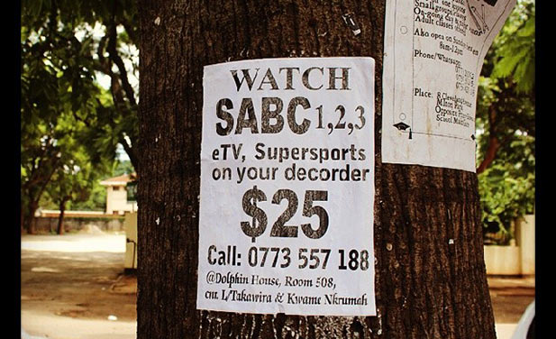 MultiChoice SA aware of illegal DStv in Zimbabwe but can't do