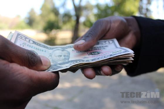 WhatsApp Money exchanging hands