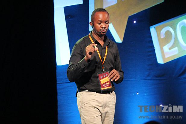 Martin Njuguna of Chamasoft at PIVOT 2014