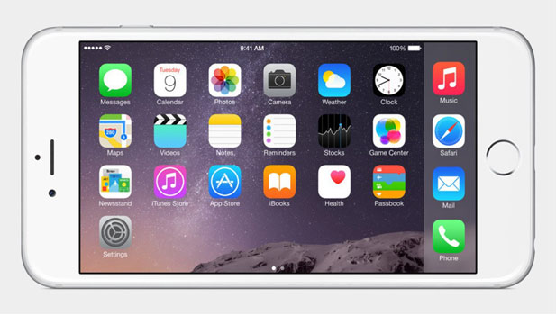 Apple's first phablet, the iPhone 6 Plus