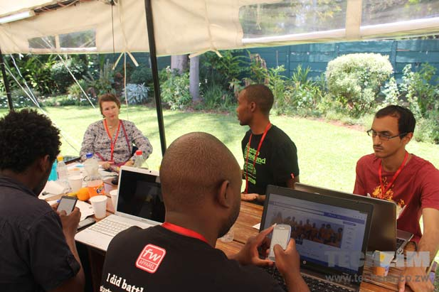 Food Match at Startup Weekend Harare
