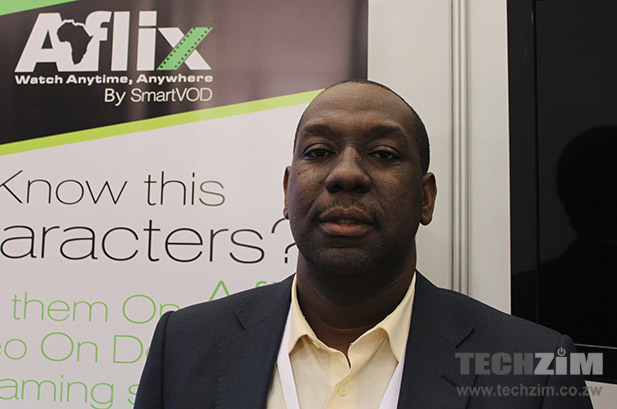 Nyasha Mutsekwa after speaking to Techzim at AfricaCom