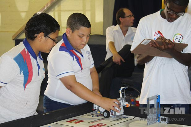 First Lego League Zimbabwe Holding Robotics Tourney For