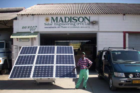 Solar Power Company Harare