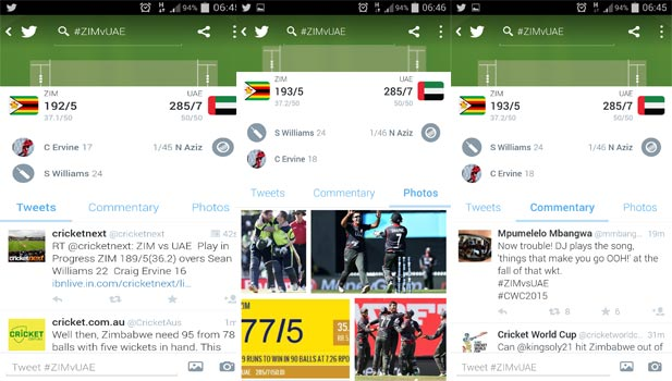 Explore Cricket World Cup Twitter