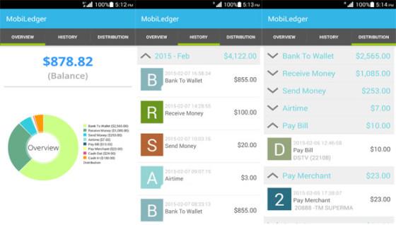 MobiLedger App