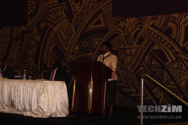 Ms Tumelo, local ITU representative