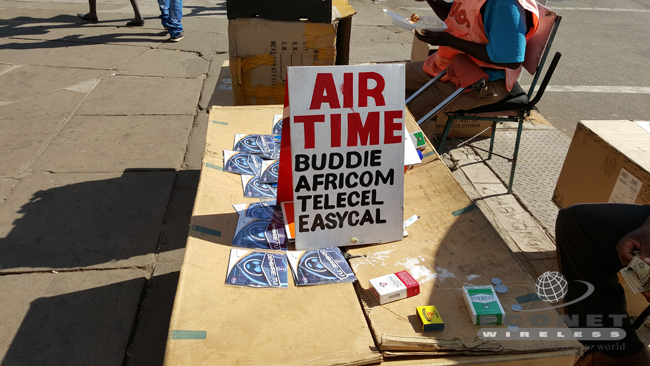 City of Harare, airtime vendors