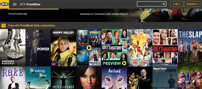 VOD Services, MTN Data