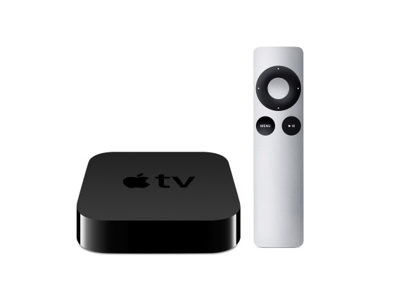 Apple TV and Remote Image Credit : Apple.com