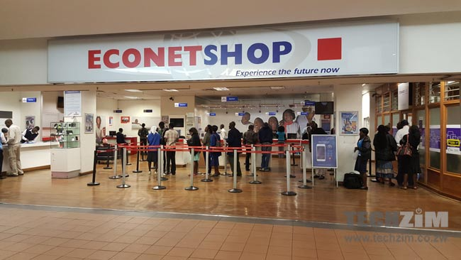 Econet Zimbabwe, Joina City, Econet Shop