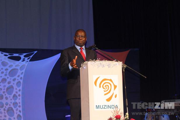 Econet CEO, Econet Zimbabwe, Muzinda Hub