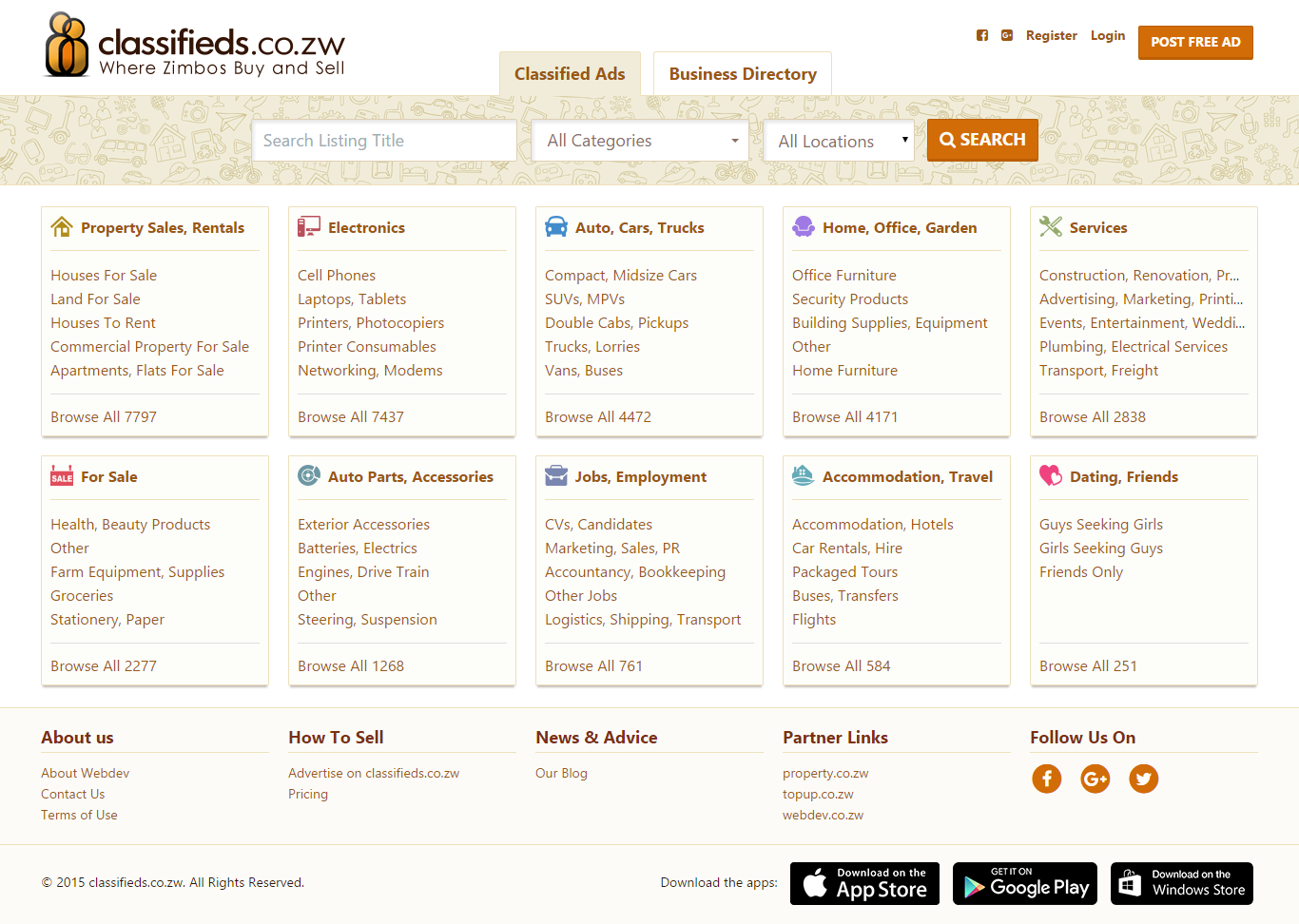 Classifieds co zw launches business directory, along with