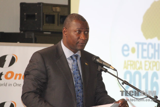 Supa Mandiwanzira, the Minister of ICT