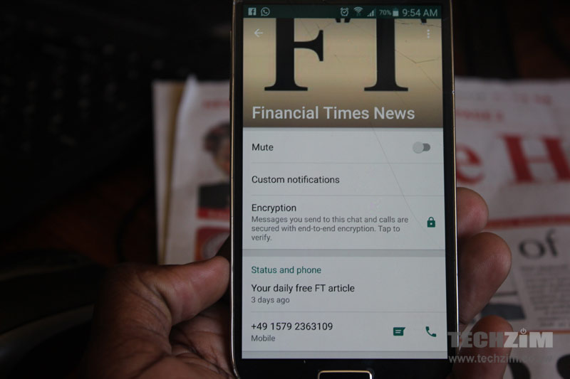 WhatsApp News, Financial Times, Media, Instant Messaging