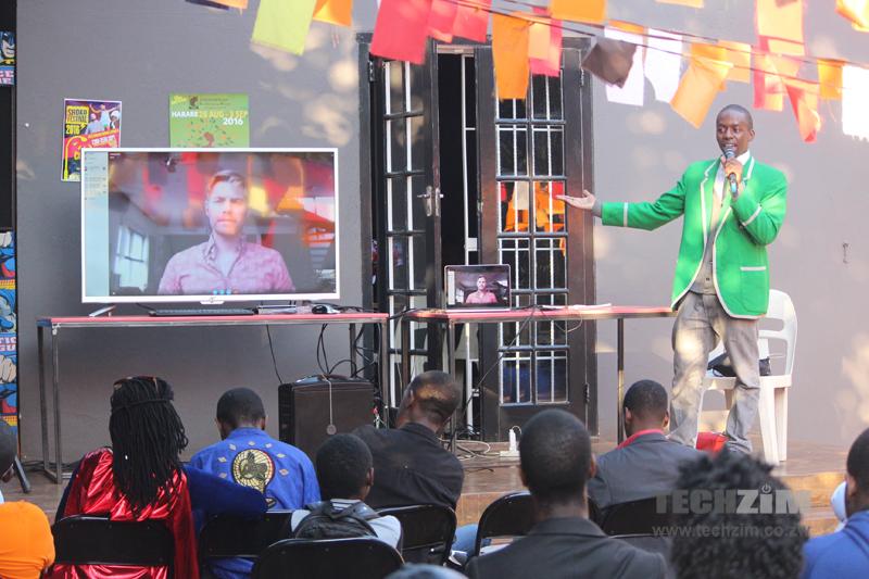 Tatenda Mbudzi,Rick Costello, Comexposed