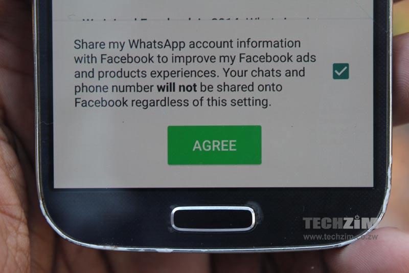 WhatsApp Policy update, Ts & Cs