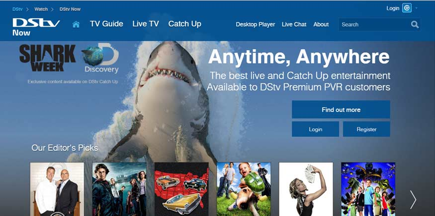 MultiChoice, Pay Tv, TV on the Go, DStv Catchup