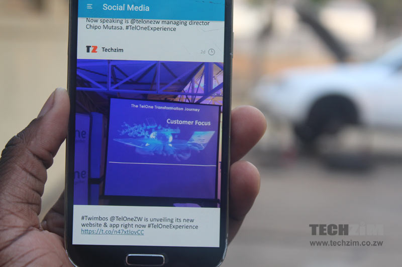 telone-social-media-app