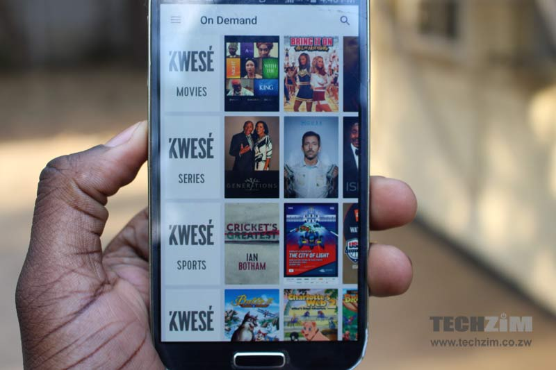 Econet media, IPTV, VOD in Africa, VOD, Pay TV