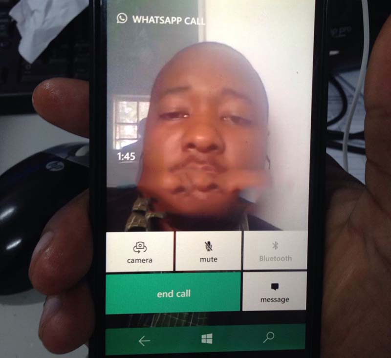 Android users were not the first to get WhatsApp video