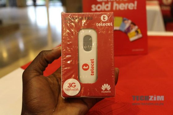 Telecel internet, mobile broadband, 3G dongle, Huawei dongle,