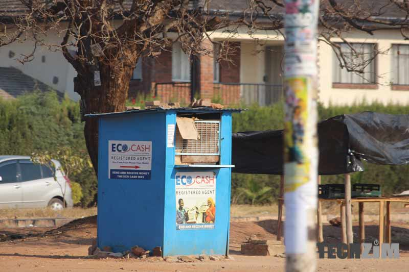 EcoCash agents, mobile money