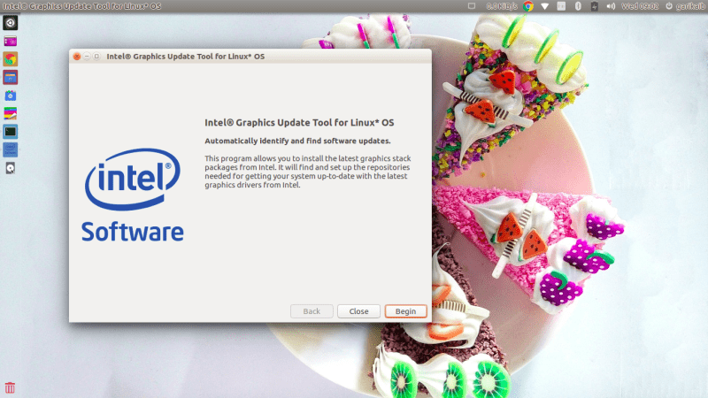 Here's a guide for installing the Intel graphics driver in
