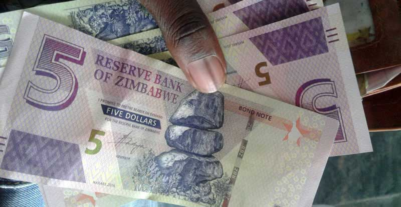 Reserve Bank Of Zimbabwe Releases 15 Million Worth New 5 Notes Brings Bond Total To 88