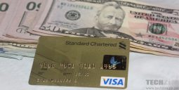 Standard Chartered Visa Card with US dollars