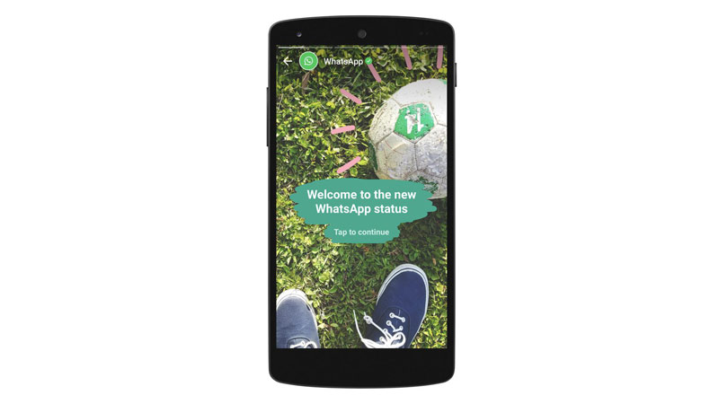 WhatsApp Features, copying Snapchat