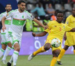 Zimbabwe, Algeria, AFCON 2017