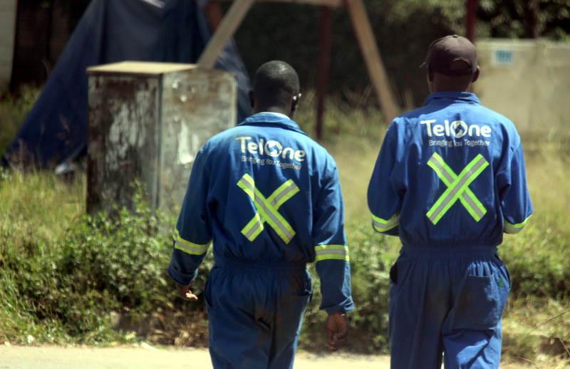 TelOne Men walking