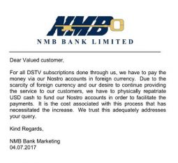NMB-DStv-charges