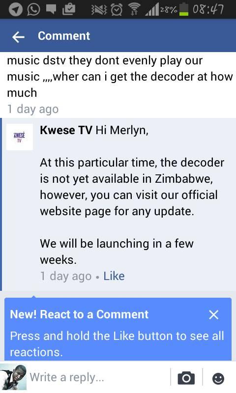 Kwesé TV launch