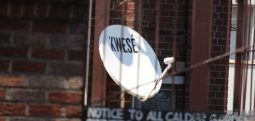 A Kwese satellite dish