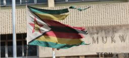 Zimbabwean flag ( Kwesé is not Zimbabwean)