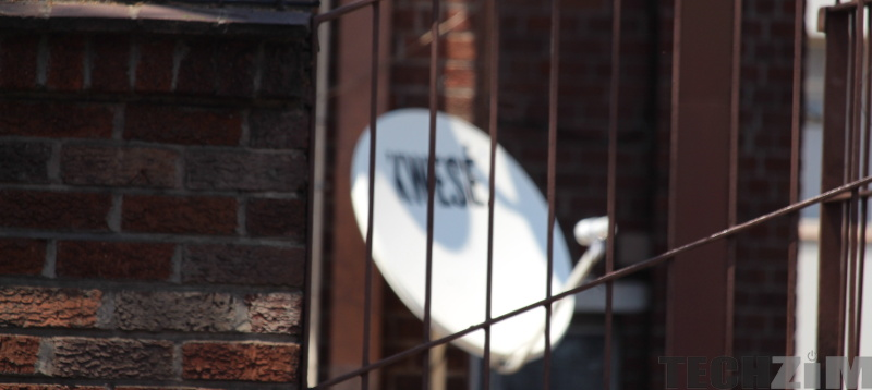 Kwese TV satellite behind bars
