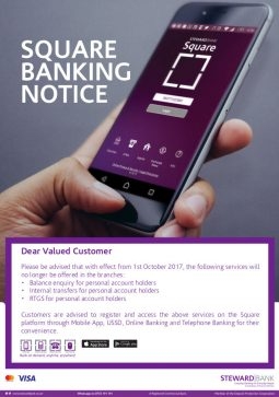 Steward Bank Notice