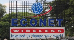 Econet Logo at their HQ
