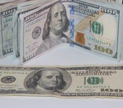 US dollars, money, cash, 100 dollar bills