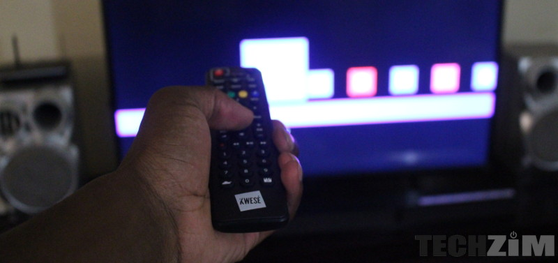 Kwesé TV remote