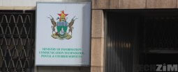 Ministry of ICT banner, former ministry of Chamisa
