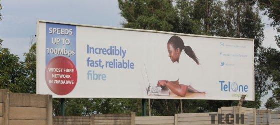 Telone Fibre billboard