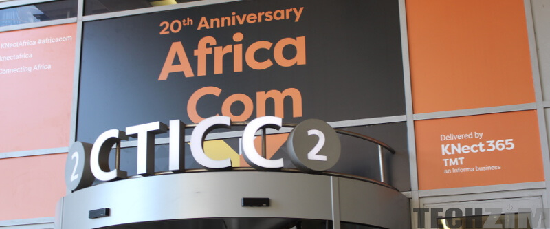 AfricaCom 2017 Cape Town International Convention Center